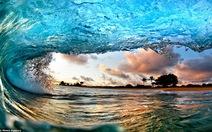 Vẻ đẹp bất ngờ của sóng biển