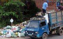 Điểm tập kết rác gây ô nhiễm