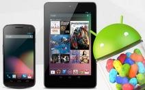 Nhiều vị ngọt từ Android 4.1 Jelly Bean