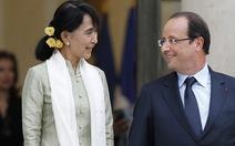 """Bà Aung San Suu Kyi """"chuẩn bị cho tương lai"""""""
