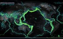 Thiết lập thành công bản đồ động đất toàn thế giới