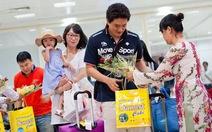 Chuyến bay đầu tiên từ Hàn Quốc đến Cam Ranh