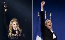 """Đảng cực hữu Pháp kiện Madonna tội """"phỉ báng"""""""