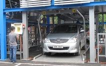 Hà Nội: nhà đậu xe cao tầng hoạt động