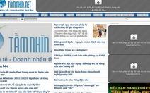 Báo điện tử Tamnhin.net dừng xuất bản