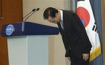 Tổng thống Hàn Quốc xin lỗi công chúng