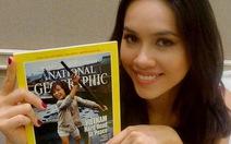 Hoàng My giới thiệu Việt Nam với Miss World 2012