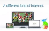 Google lấn sân truyền hình với mạng Internet siêu nhanh
