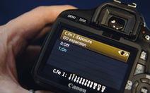 5 tùy chỉnh menu dành cho máy Canon