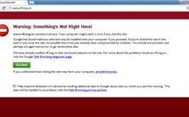 """Nhiều website VN vào """"danh sách đen"""" Google"""
