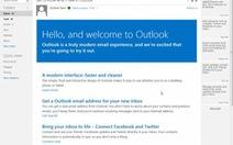 Tạm biệt Hotmail, chào Outlook.com