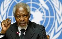 Ông Kofi Annan từ chức đặc phái viên về Syria