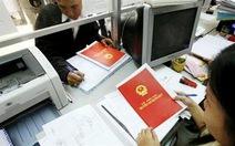 2013 phải cơ bản hoàn thành việc cấp giấy chứng nhận