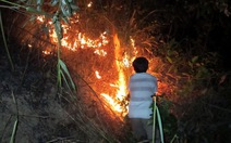 Cháy rừng liên tiếp ở Đà Nẵng