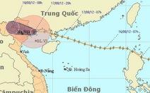 Bão vào Quảng Ninh, suy yếu thành áp thấp