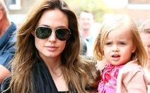 Angelina Jolie đóng phim cùng con gái út