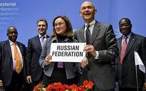 Nga trở thành thành viên thứ 156 của WTO
