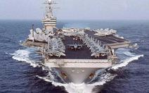 Mỹ lại đưa tàu sân bay tới vùng Vịnh