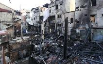 Hoang tàn sau vụ cháy thảm khốc