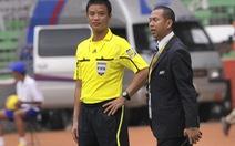 Trọng tài Võ Quang Vinh đoạt danh hiệu còi vàng 2012