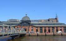 Sáng chủ nhật cùng chợ cá Hamburg