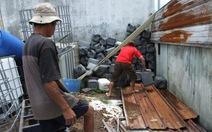 Phát hiện cơ sở lưu trữ và xả chất thải nguy hại ra môi trường