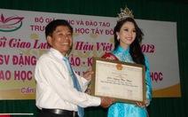Đại học Tây Đô giải thích về hoa hậu Đặng Thu Thảo