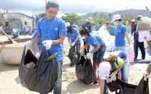 Ngày thế giới làm sạch biển, nhặt 3,8 tấn rác