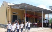 Khánh thành nhà bán trú dân nuôi ở Quảng Ngãi