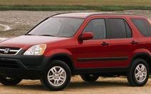 Honda thu hồi 268.000 xe CR-V