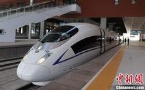 Trung Quốc xây đường sắt cao tốc trên núi