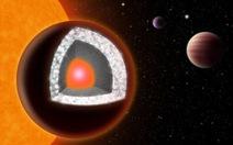 Phát hiện hành tinh kim cương lớn gấp đôi Trái đất