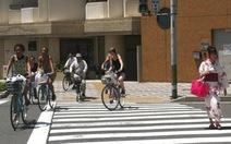 Ngắm nhìn Tokyo qua vòng xoay xe đạp