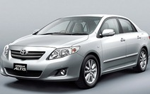 5.299 xe Toyota tại VN bị thu hồi