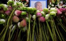 Thi hài cựu vương Sihanouk về đến quê hương