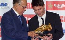 Messi nhận Chiếc giày vàng châu Âu