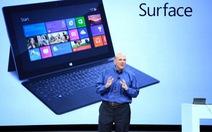 Chào Windows 8 và máy tính bảng Surface