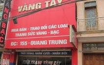 Tuyên Quang: kẻ cướp tiệm vàng nhận án tử hình