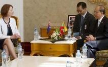 Úc, Myanmar hội đàm lịch sử