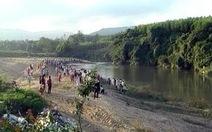 Tắm sông, 5 học sinh chết đuối