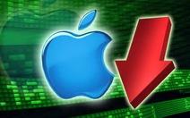 Giá cổ phiếu Apple sụt giảm thê thảm