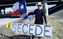 25.000 người đòi tách Texas khỏi nước Mỹ