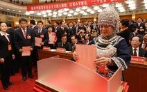 Trung Quốc bầu xong 200 ủy viên trung ương