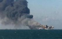 Mỹ: nổ giàn khoan dầu trên vịnh Mexico