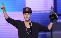 """Giải thưởng âm nhạc Mỹ """"gọi tên"""" Justin Bieber"""