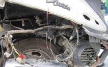 Lại cháy xe máy ở trung tâm TP.HCM