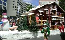Auckland diễu hành chào đón Giáng sinh