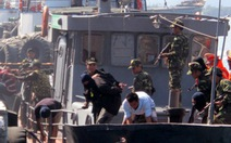 Diễn tập chống khủng bố trên biển