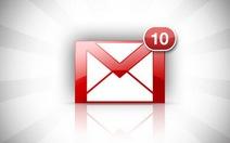 Gmail: đính kèm tập tin 10GB nhờ Google Drive