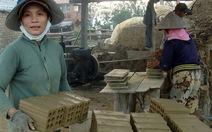 Người làm gạch được hỗ trợ chuyển nghề